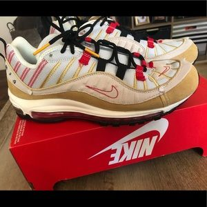 """Nike air max 98 special edition inside out"""" sz 9.5"""